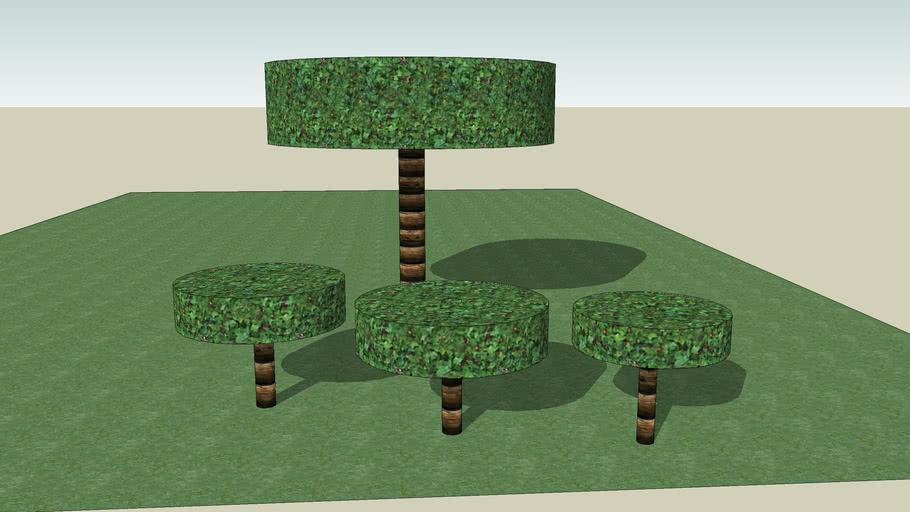 Jordans Four Trees