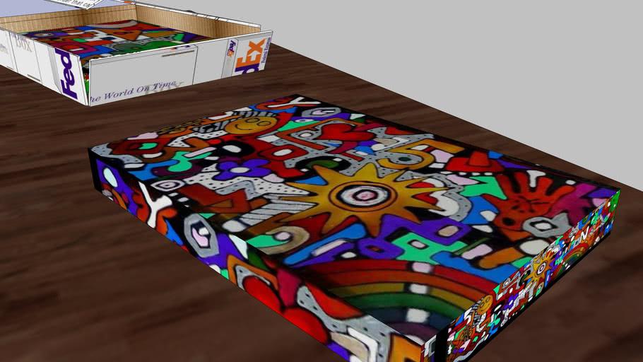 fedex box-caja