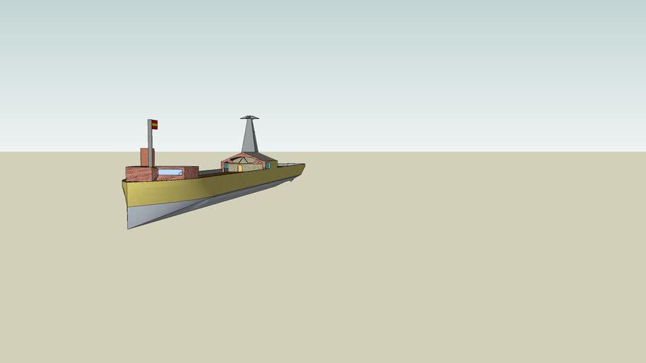 barco de comunicaciones