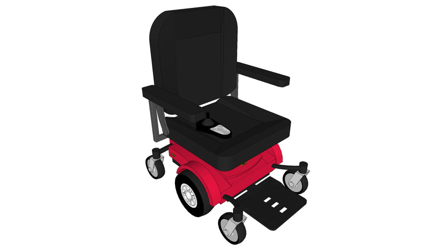 Jazzy Select 6 Power Chair with Lifting Seat