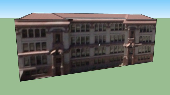 North High School, Original Wing