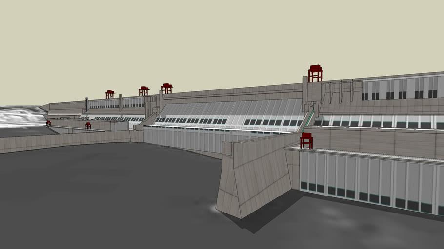 三峡大坝 Three Gorges Dam