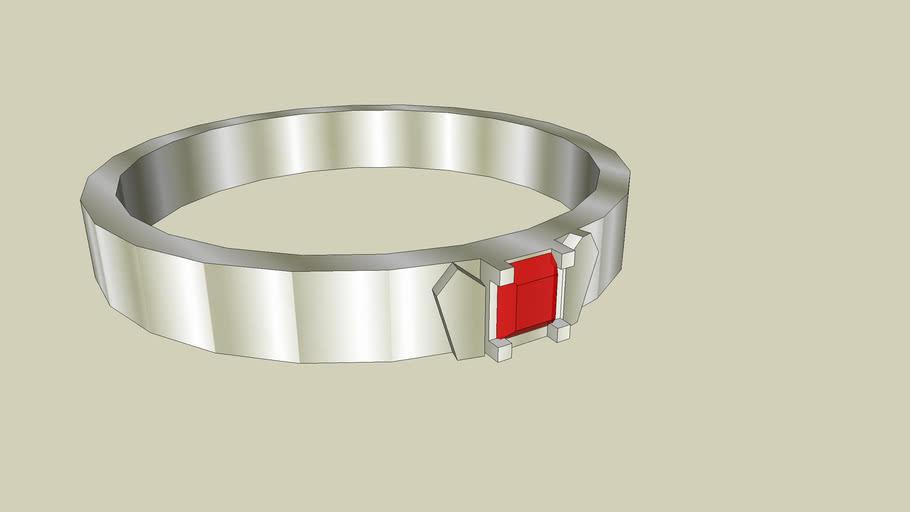 3D Ruby Ring