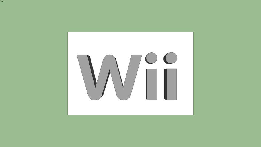3D Wii logo