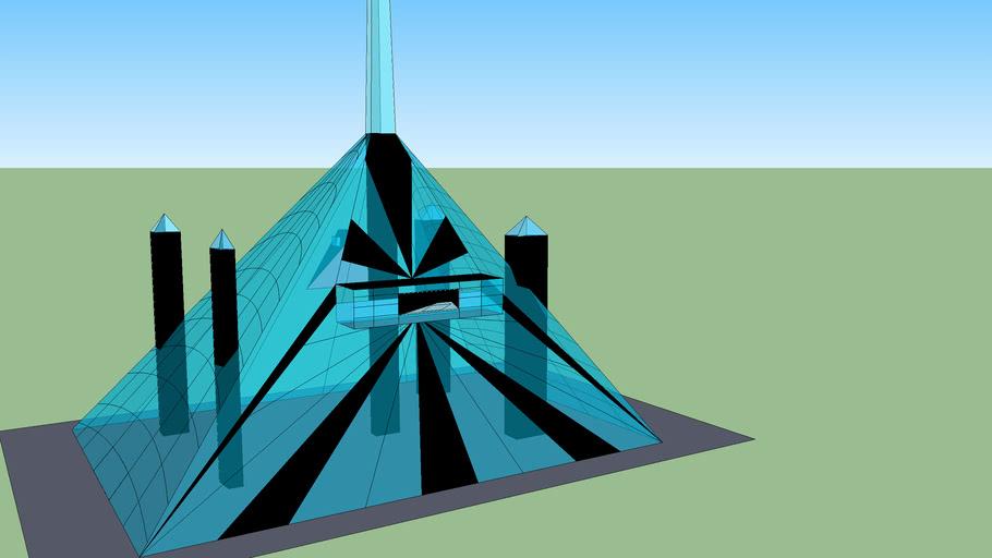 Futuristic (ecological)  building/ Edificio (ecologico) Futurista