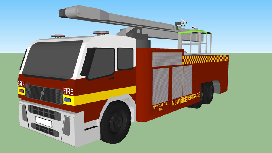 FRNSW Volvo FH Ladder Unit