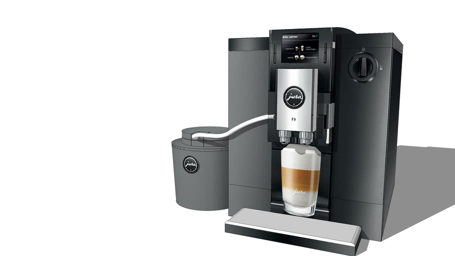 The Jura Impressa F9 Coffee Machine