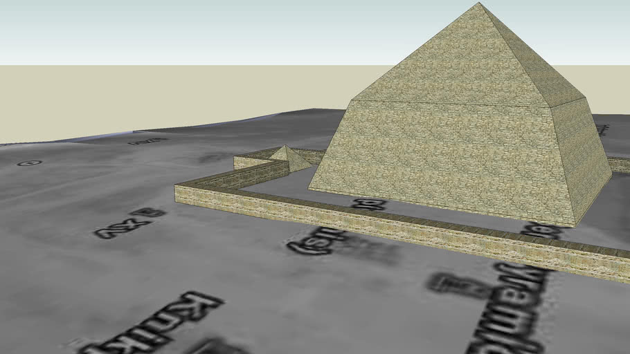 Piramide Inclinada de Snefru (Snefru's bent pyramid)