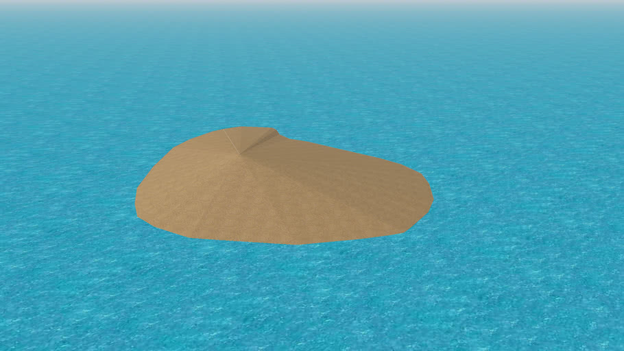 Small Island With Ocean