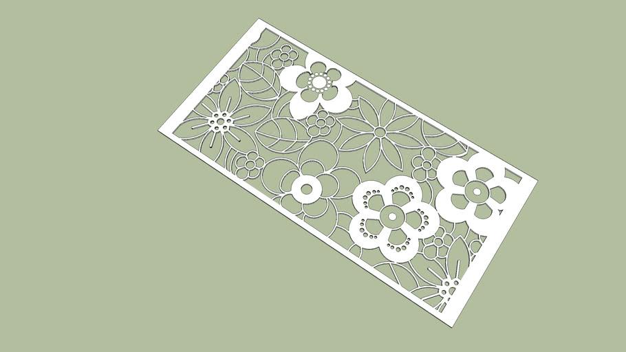Pattern Partition1.22x2.44 m.