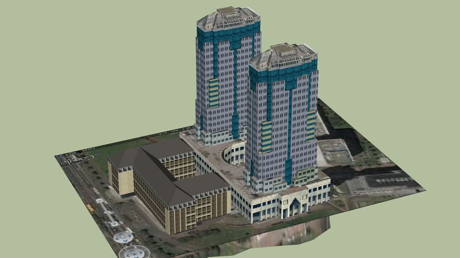 Gedung Bank Indonesia 3d Warehouse