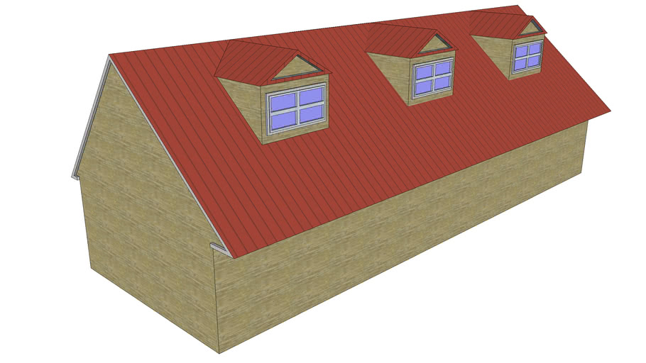 My someday ranch house and recording studio--basic design--limited detai