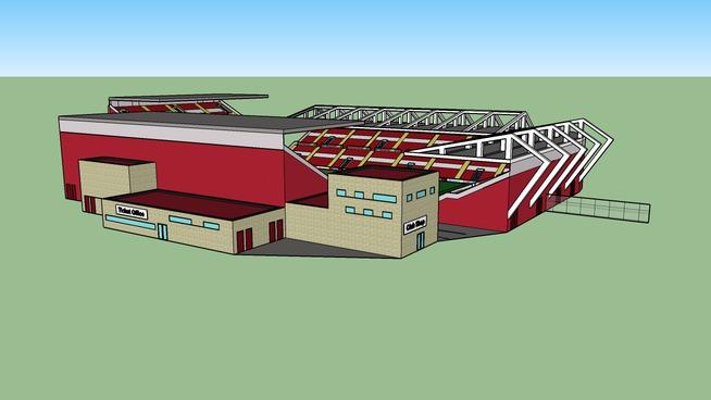 Big Red One Stadium - Just Random