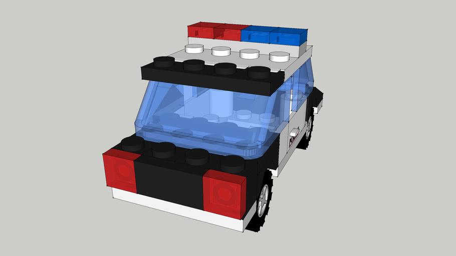 Police Lego Car