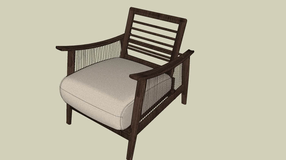 Cadeira Saccaro Santa Barbara ref. 4440