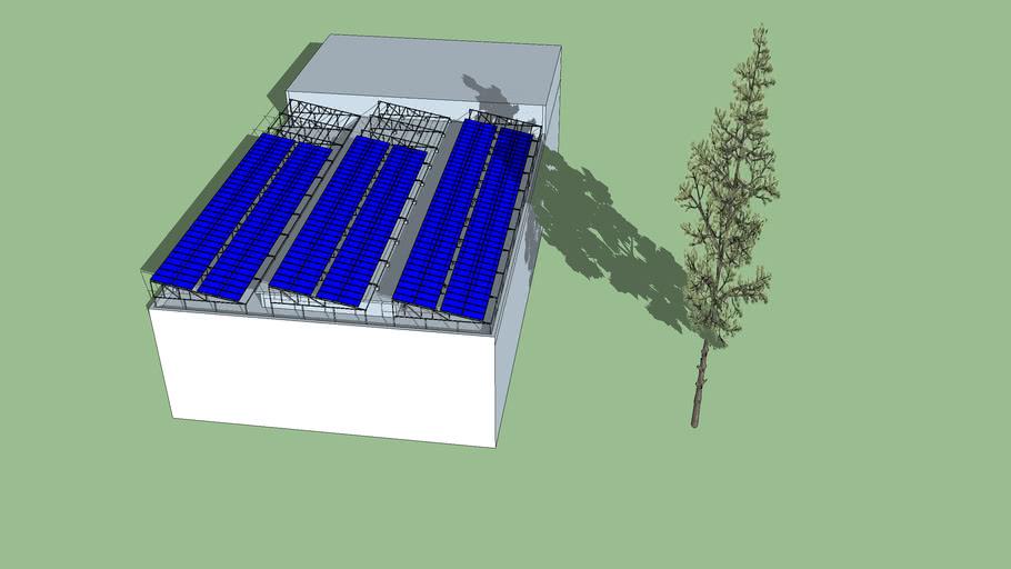 130kw RCC RooftopSolar Plant