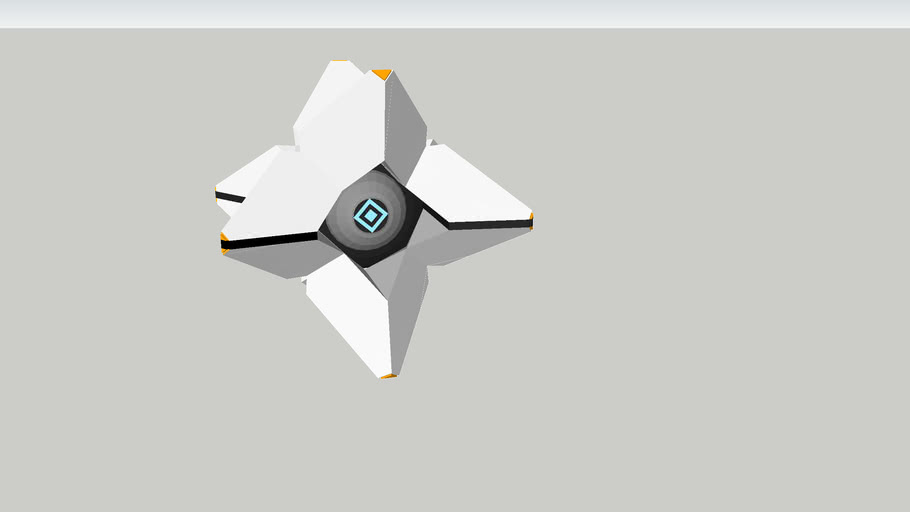 Destiny Ghost Papercraft : 10 Steps - Instructables | 512x910