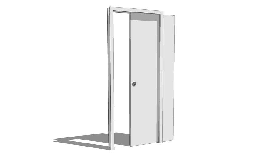 Door sliding interior