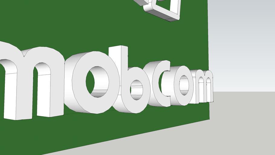 Mobcom Logo 3D