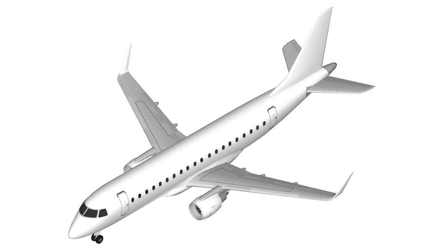 Embraer E175 Template
