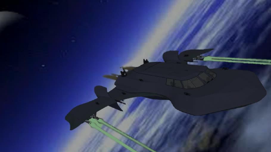 ATX21-Hermion - Tauri and asgard space corvette class