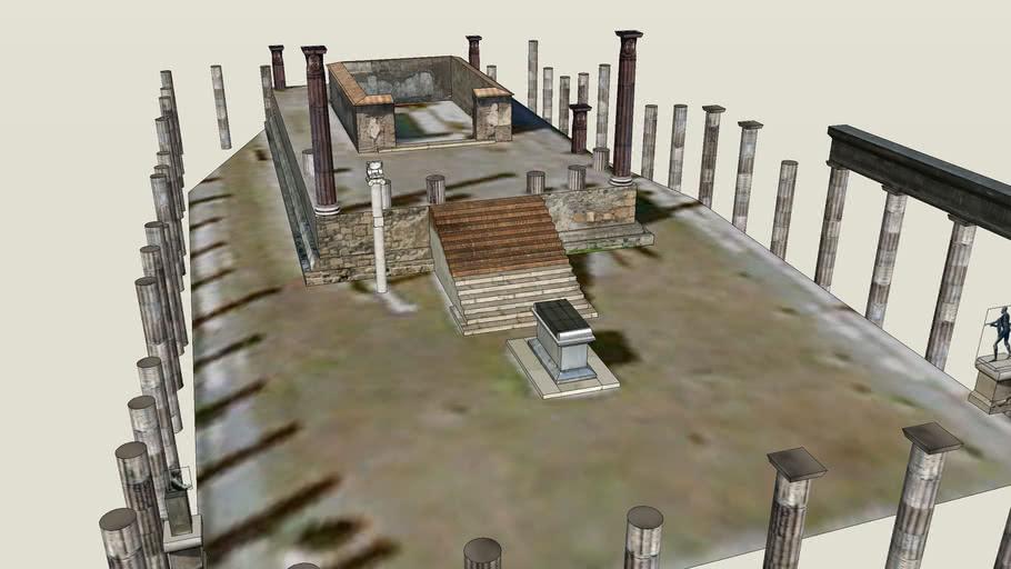 Pompeii Temple of Apollo