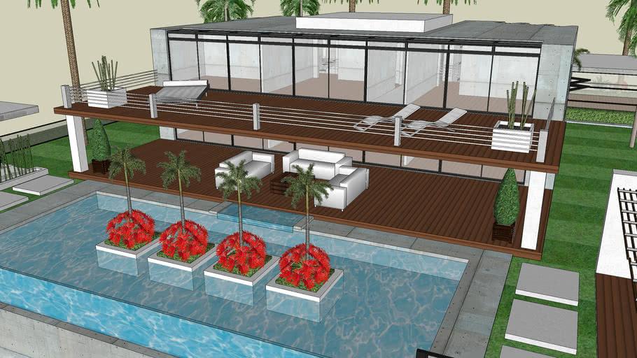 Modern Beach House 3d Warehouse