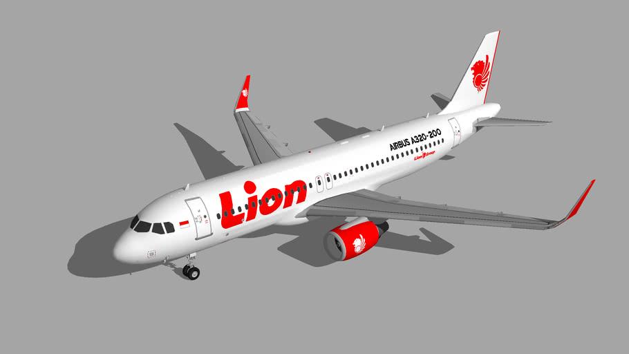 Lion Air Airbus A320-200 23