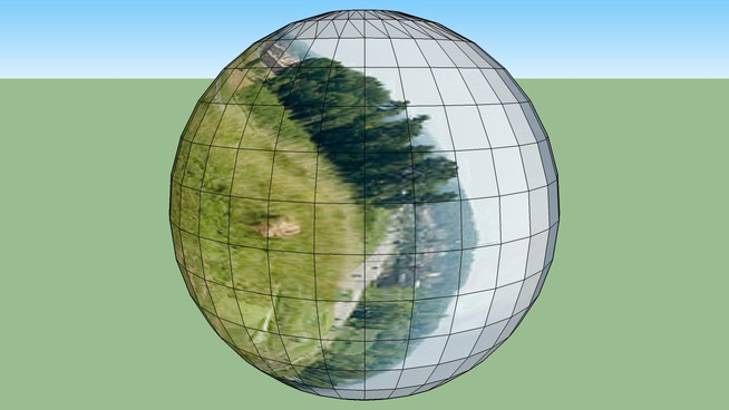 A nice man in a ball panorama | 3D Warehouse
