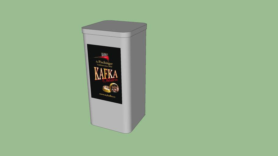 Kafka oblaten tin box