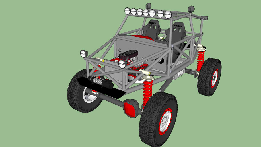Off Road 4x4 Car Tubular