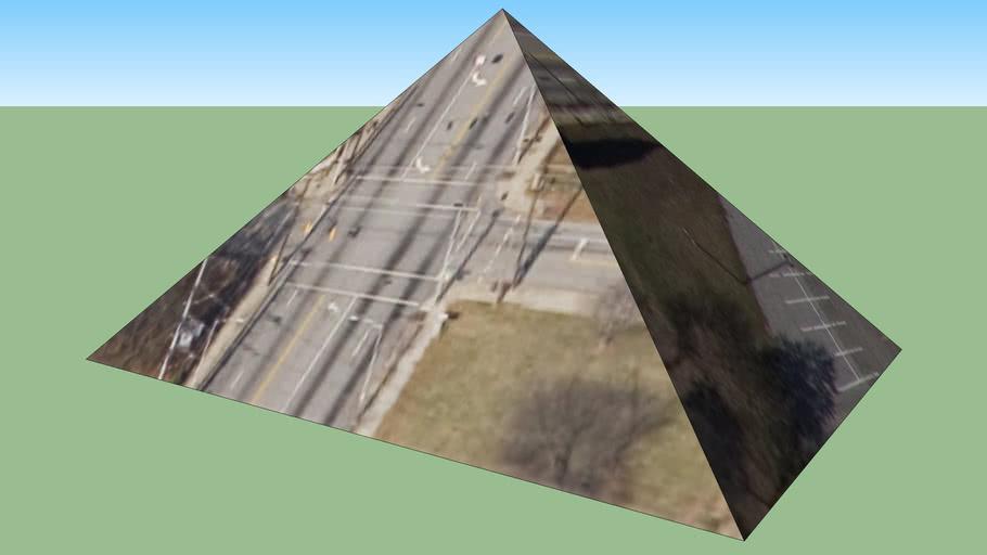 pyramid in Atlanta, GA, USA