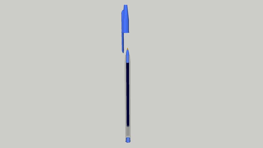 Ballpoint Pen (Blue)