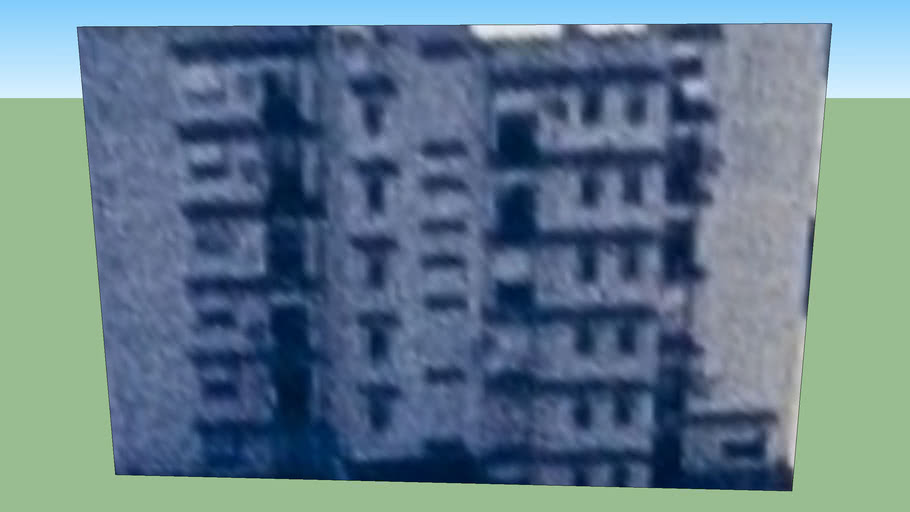 Building in Avellaneda, Buenos Aires, Argentina