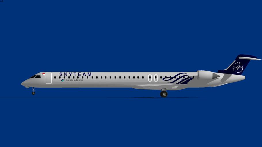 Garuda Indonesia Bombardier-CRJ-1000 Skyteam
