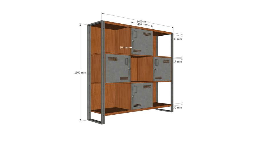 Modern Office Cabinet