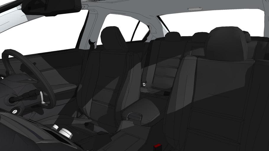 Honda Accord RHD - no windows