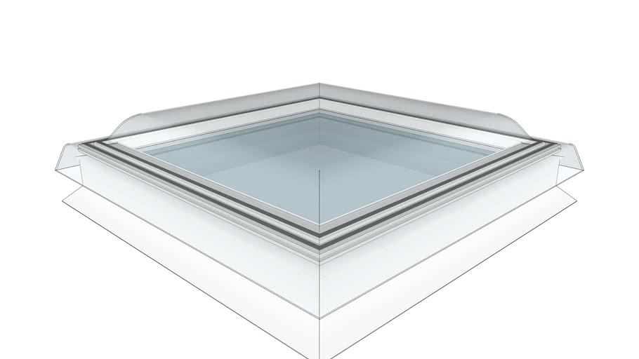 Acrylic, Flat Roof Window