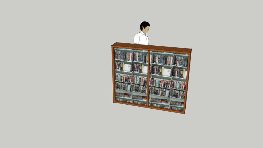 graphic novel shelves