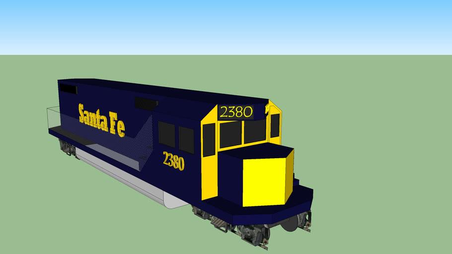 Santa Fe GP38-2 #2380