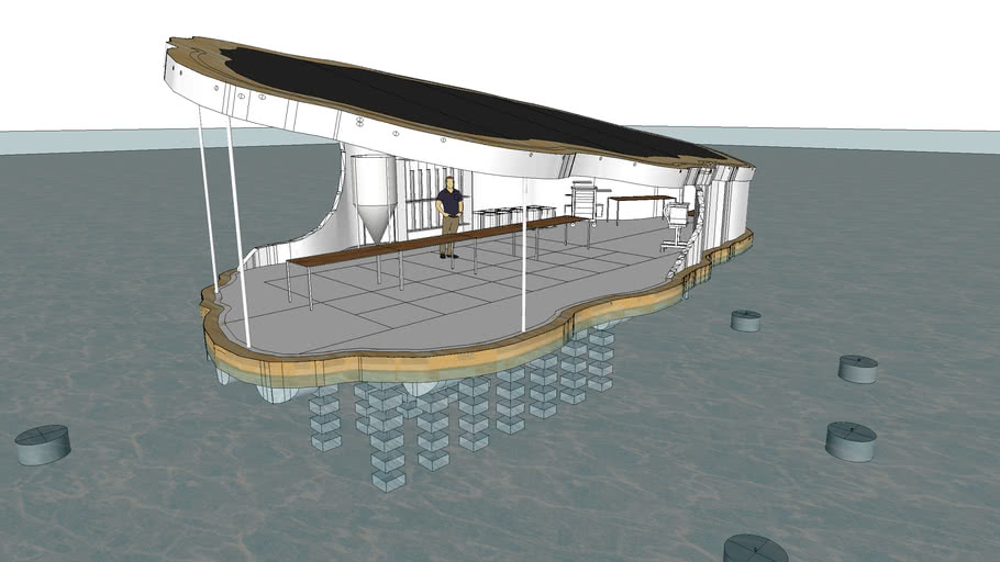 Ocean Imagineer, Floating Oyster Hatchery