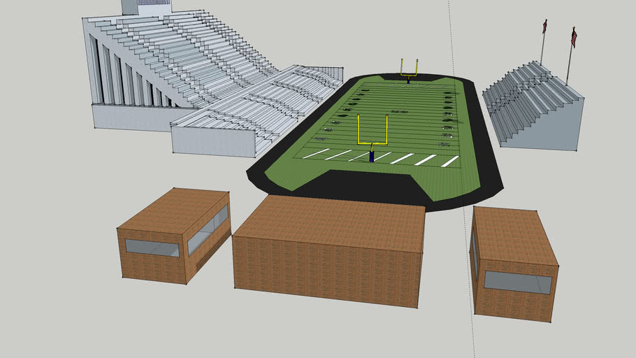 Hudsonville Eagle's Football Stadium (Eagle Stadium)