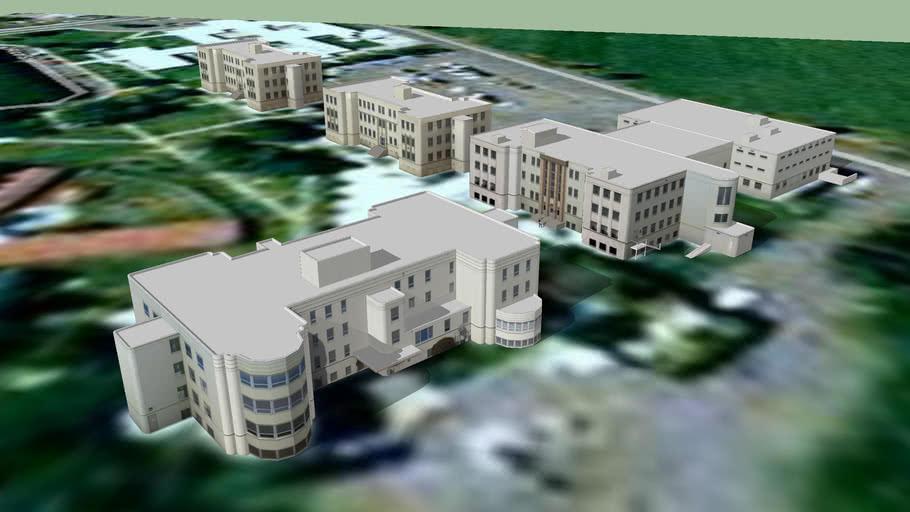 State Hospital South - original buildings