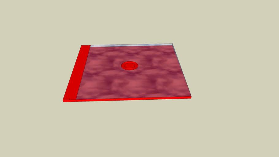 red cd case