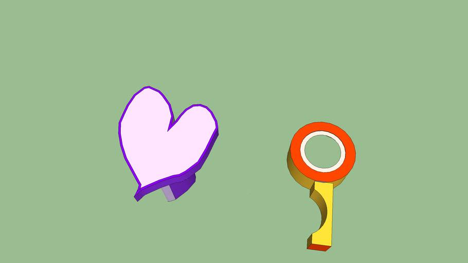 kalp ve anahtarı
