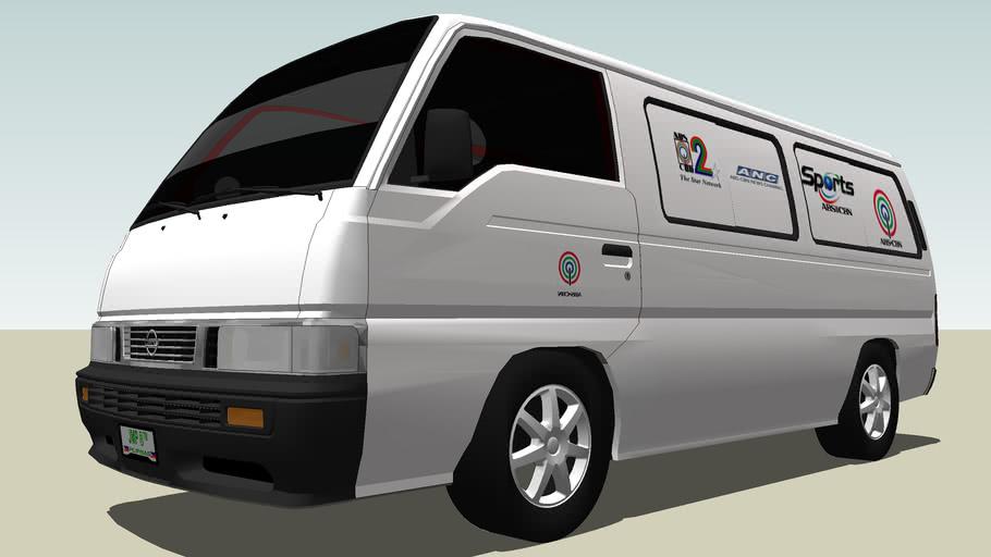 Nissan Urvan ABS-CBN Van