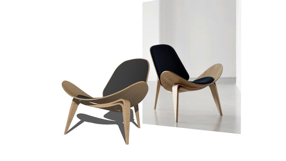 CH07 Shell chair - Lounge Chair by Hans J Wegner