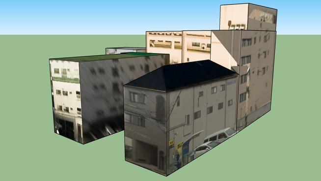 Épület itt: Oszaka, Ōsaka Prefecture, Japán