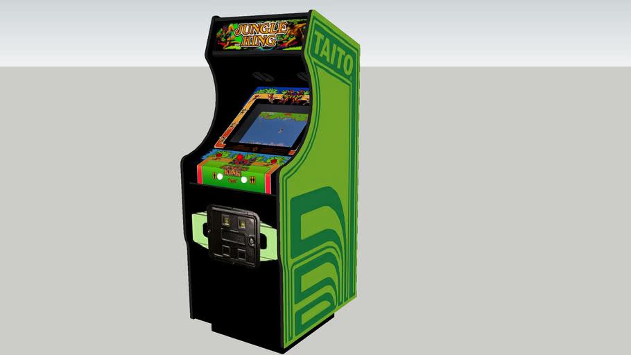 Jungle King arcade game Rev.2