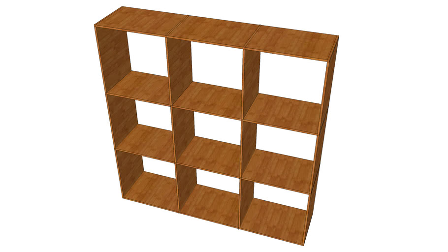 MUJI_Grid Shelf 3Rows